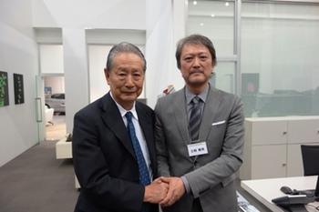 クォンタムリープ社長出井氏と.jpg