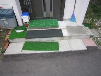 通りずらい玄関の段差